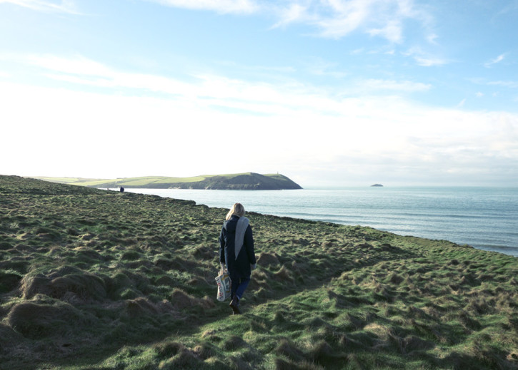Gorgeous views out to see and towards the iconic Daymark on Stepper Point.