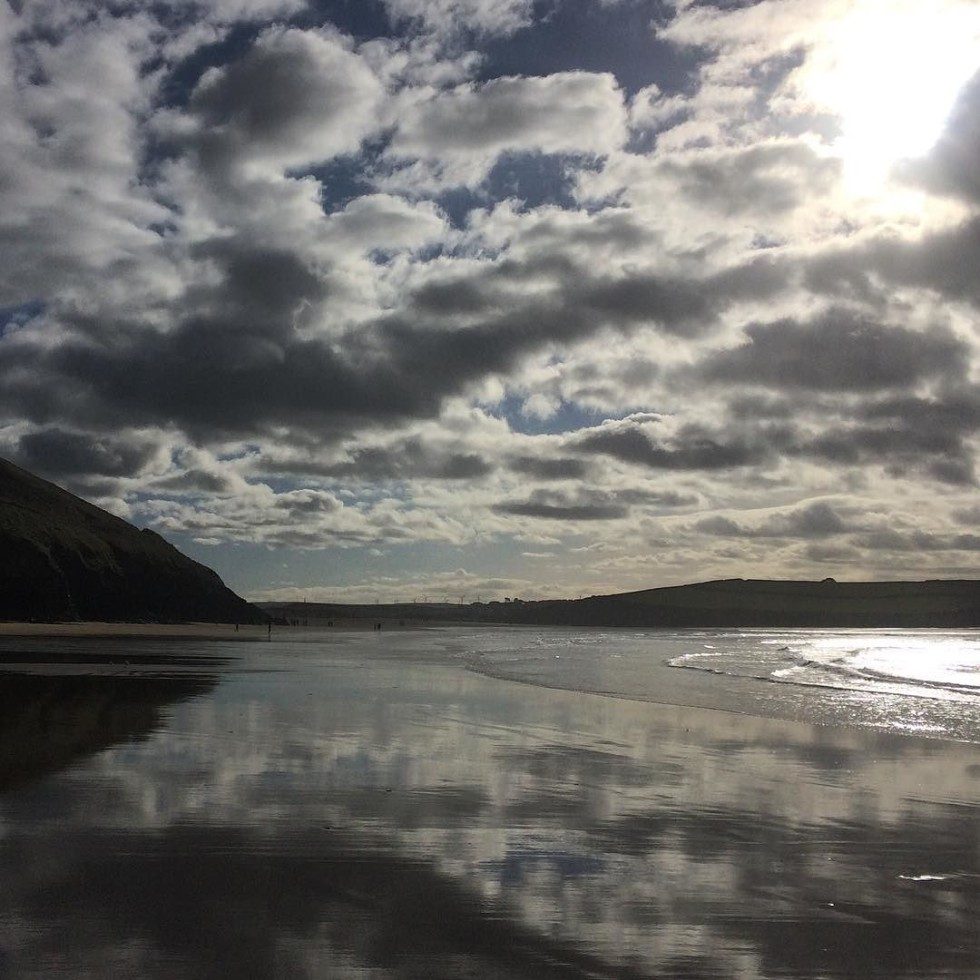 Cornwall Photos - Daymer Bay beach by @harbourlefts on Instagram
