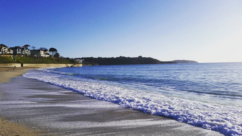Cornwall Photos - Gyllyngvase beach in Falmouth by @seano100 on Instagram