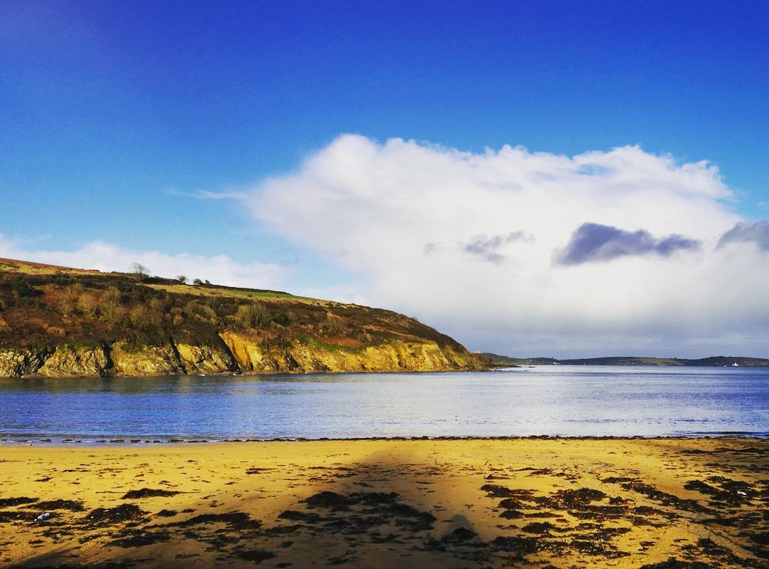 Cornwall Photos - Maenporth beach in Falmouth by @seano100 on Instagram