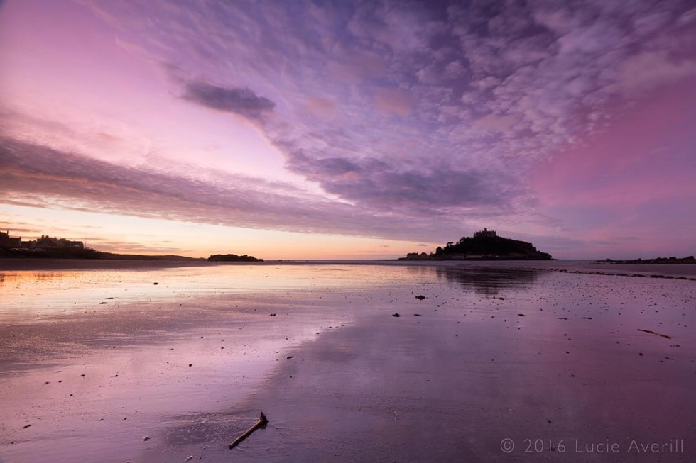 Cornwall Photos - Marazion beach and St Michael's mount by @lucie_averill on Instagram