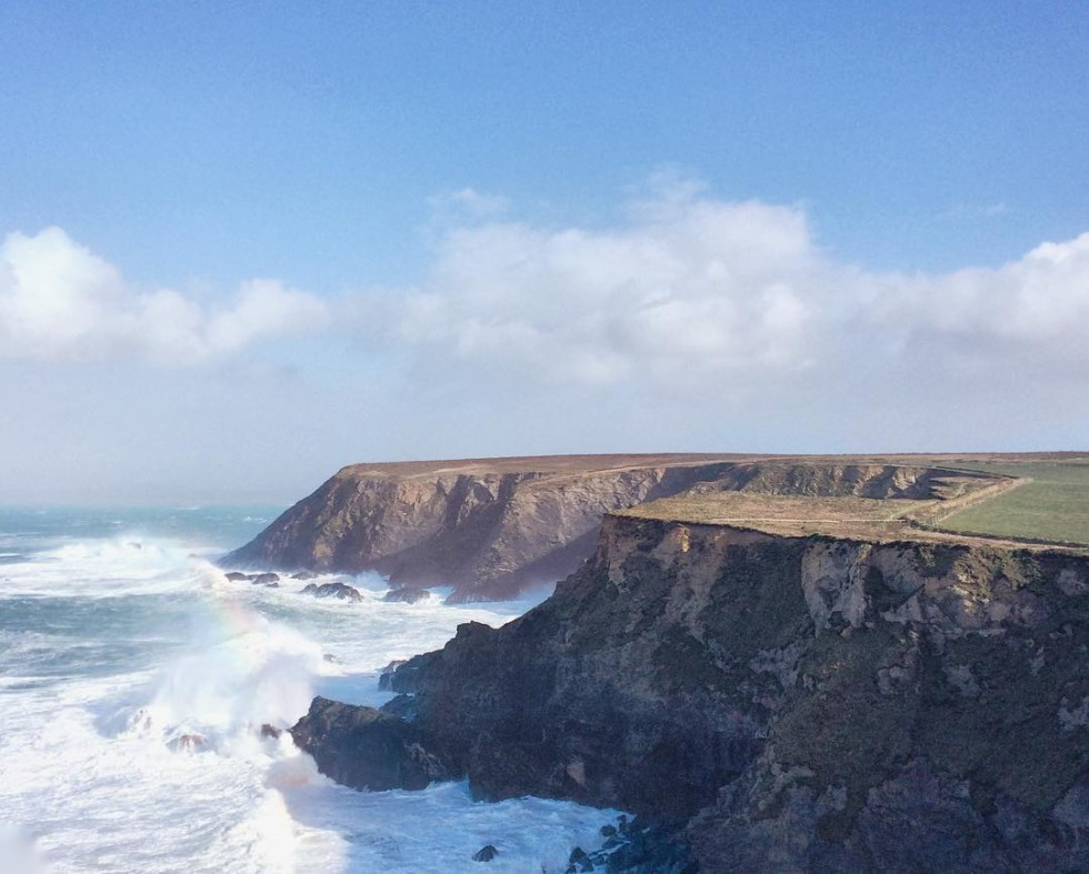 Cornwall Photos - Seal Cove near Godrevy beach by @chrisincornwall on Instagram