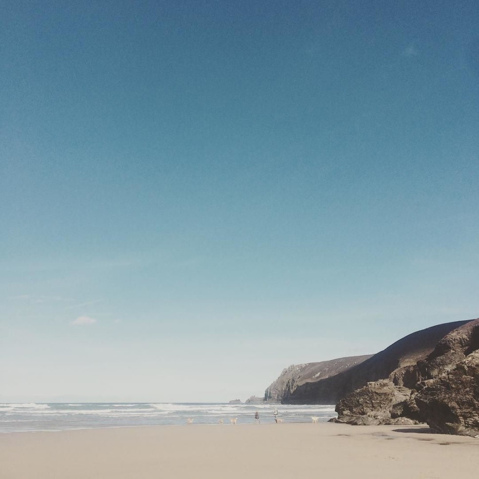 Cornwall Photos - Chapel Porth beach in St Agnes by @hello_my_name_is on Instagrsm