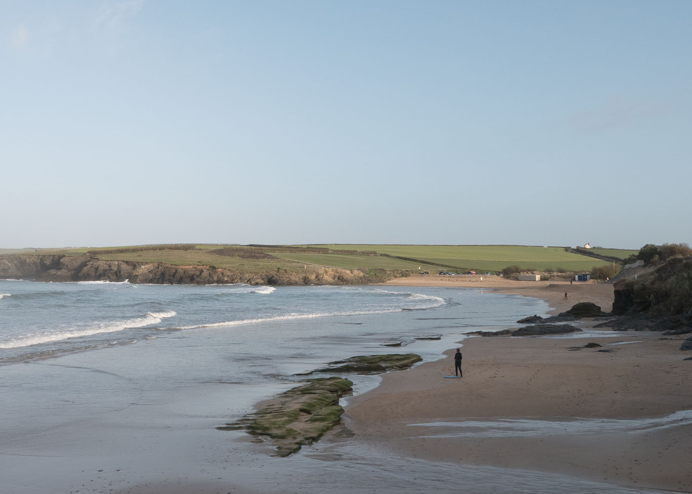 Harlyn Bay in North Cornwall near Padstow