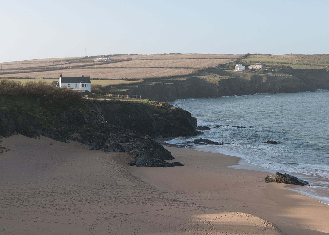 Dream house overlooking Mother Iveys Bay beach