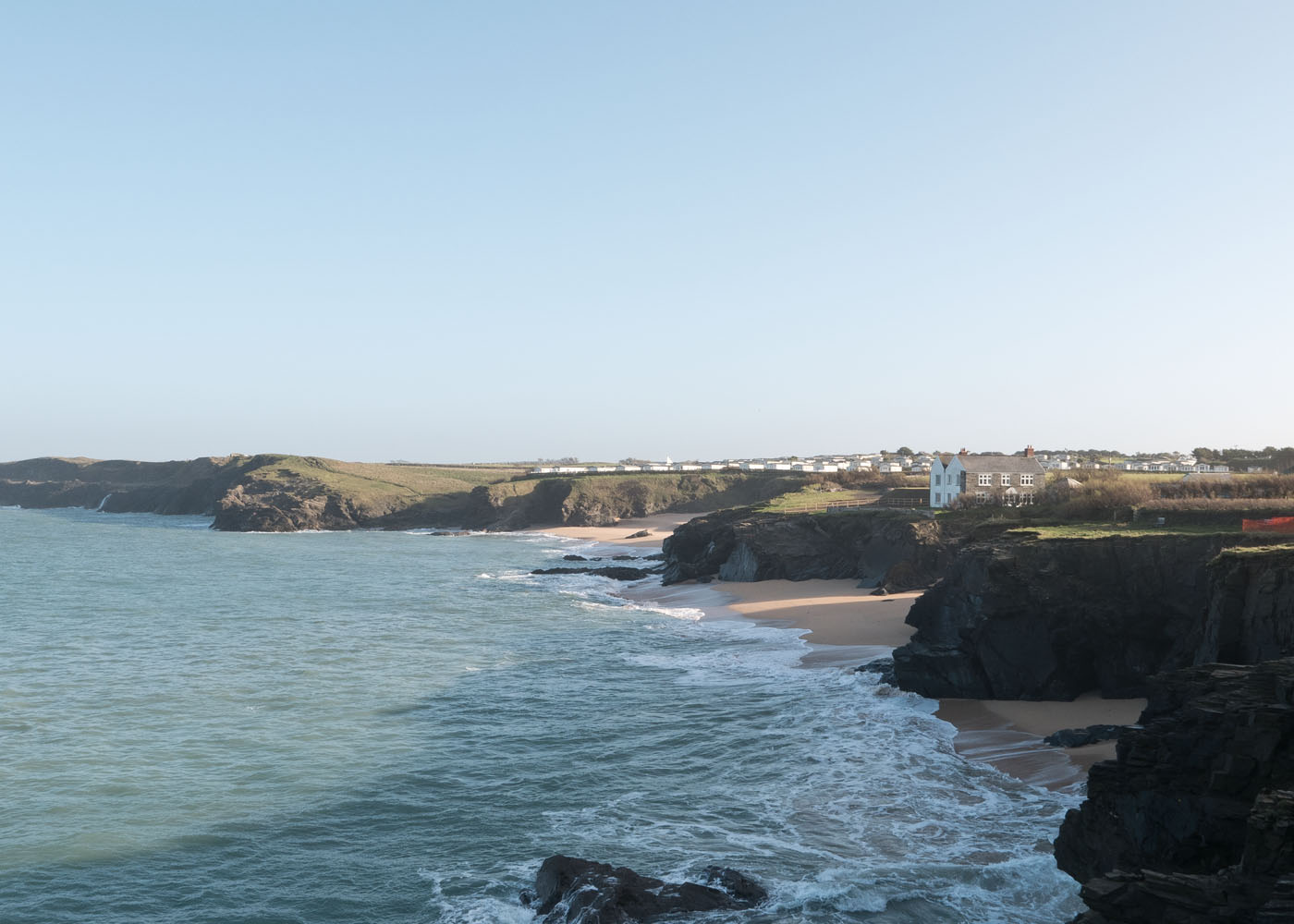 Looking towards Mother Iveys Bay