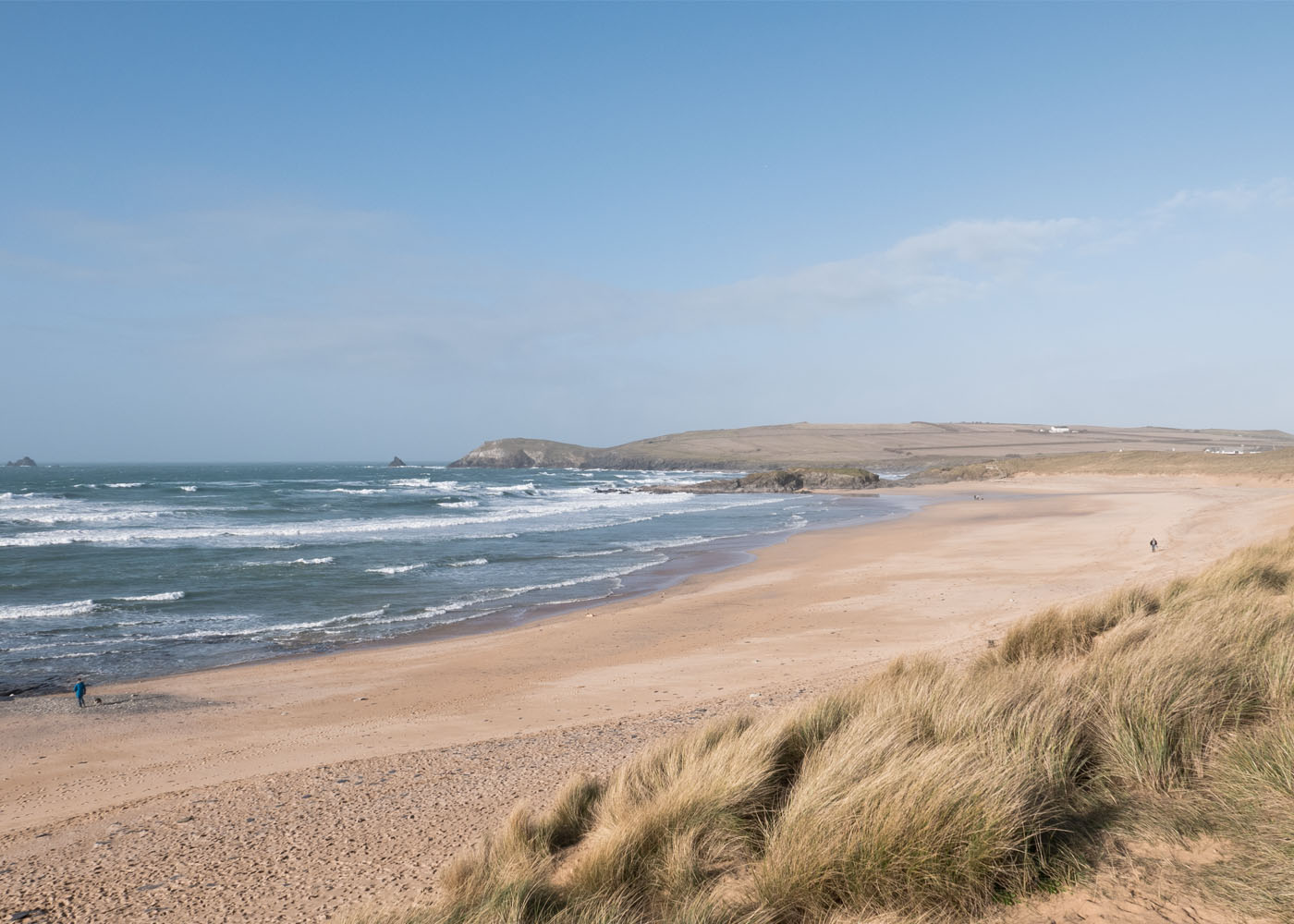 Constantine Bay beach near Padstow in North Cornwall