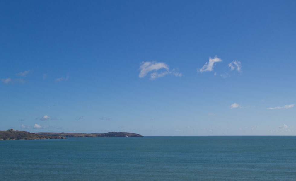 Pendennis Point in Falmouth Cornwall