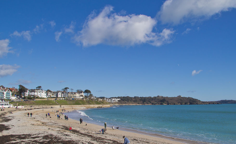 Gyllyngvase beach - Falmouth's beaches