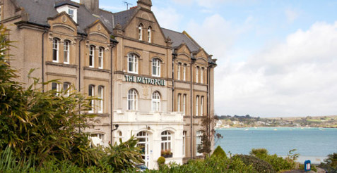 Stay at the Metropole Hotel in Padstow North Cornwall
