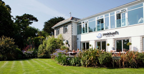 Stay at the St Michaels Hotel & Spa in Falmouth Cornwall