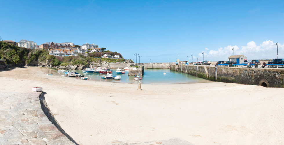 Harbour beach newquay