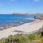 Greenaway beach near Padstow and Polzeath in North Cornwall