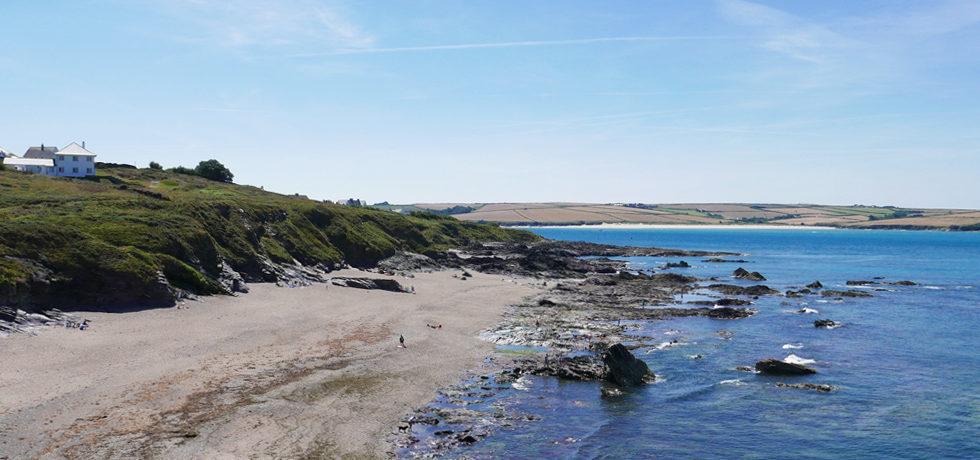 Greenaway beach near polzeath in North Cornwall