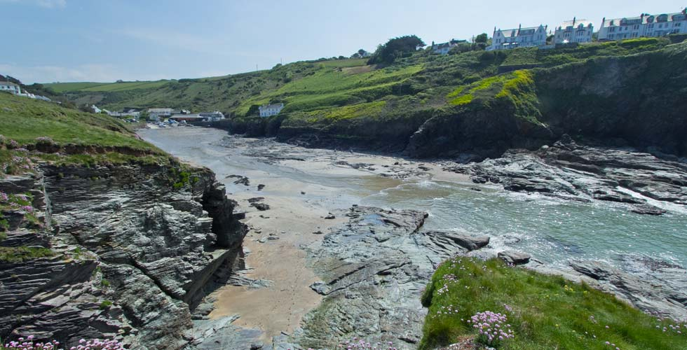 Port Gaverne is a dog friendly beach in Cornwall