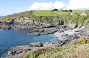 Prussia Cove near Penzance in West Cornwall