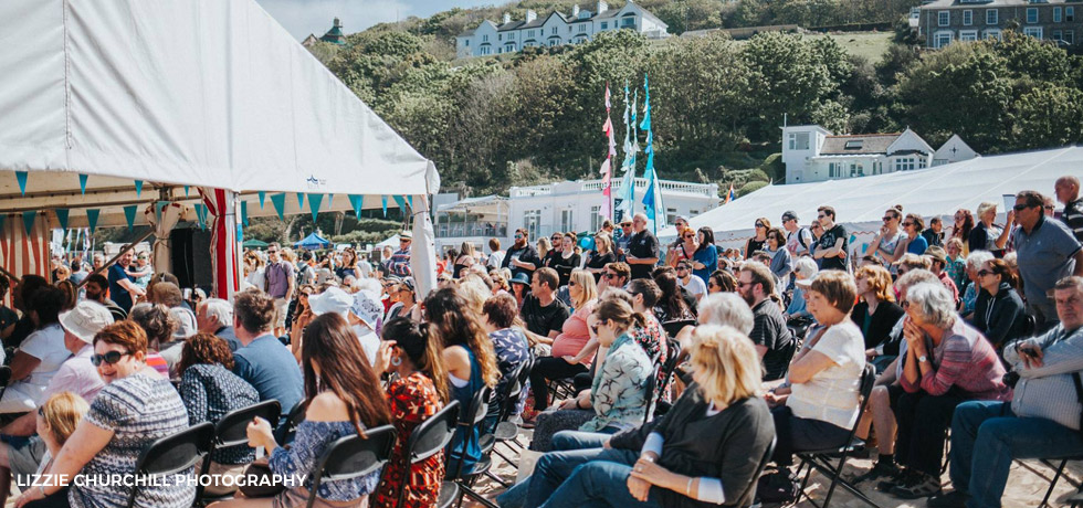 St Ives Food Festival - Photo Copyright Lizzie Churchill