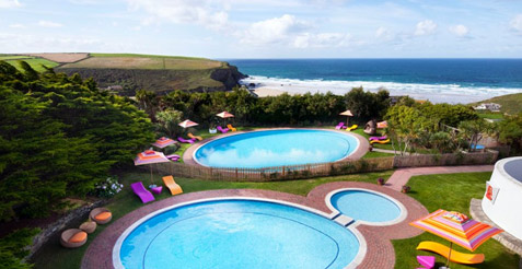 Bedruthan Hotel & Spa in Mawgan Porth Newquay Cornwall