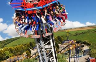Visit Flambards Theme Park in Helston Cornwall