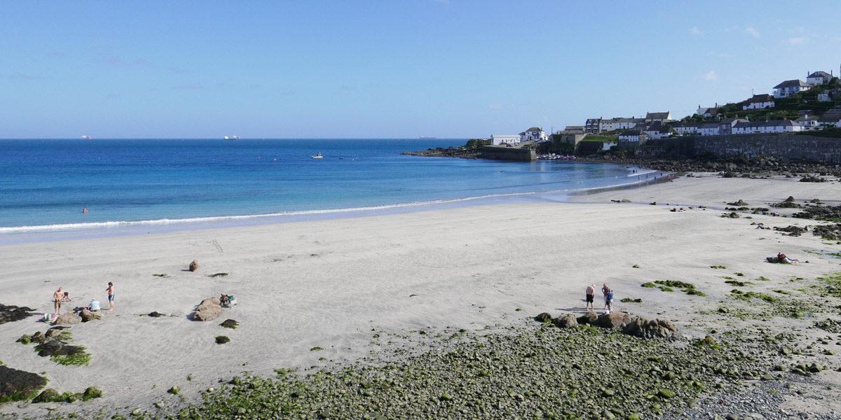 Coverack Beach on the Lizard Peninsula in South Cornwall