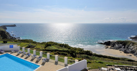 Stay at the Polurrian Bay Hotel on the Lizard Peninsula in South Cornwall