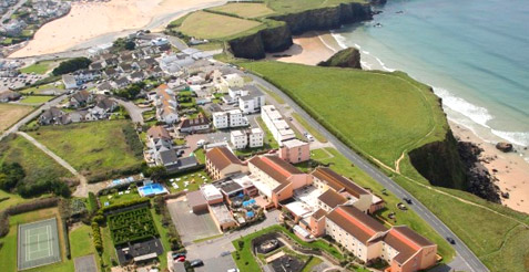 Sands Resort Hotel & Spa in Newquay Cornwall