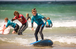 Fistral Beach Surf School Newquay