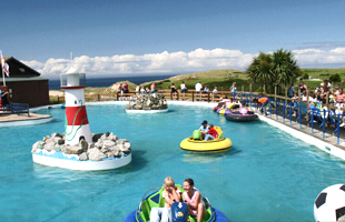 Holywell Bay Fun Park Newquay Cornwall