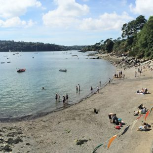durgan beach falmouth cornwall
