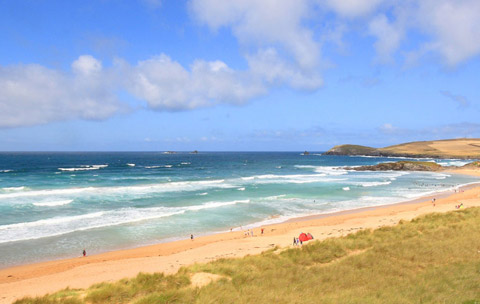 Cornwall Beaches Constantine Bay Padstow