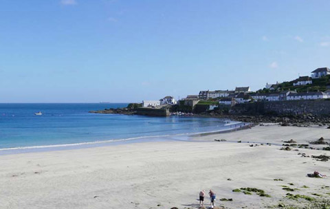 Cornwall beaches Coverack Lizard Peninsula