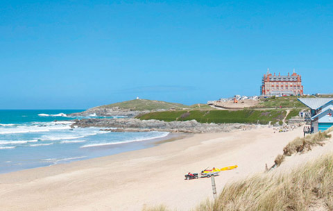 COrnwall beaches fistral beach newquay
