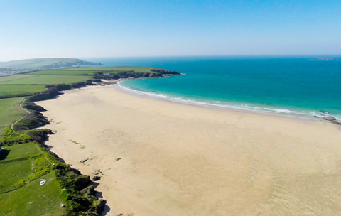Cornwall beaches Harlyn Bay Padstow