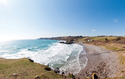 Cornwall beaches Kennack Sands Lizard Peninsula