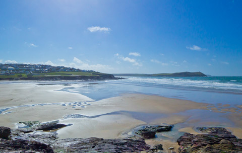 Cornwall beaches polzeath padstow