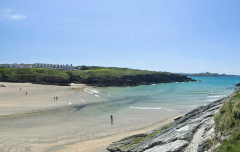 cornwall-beach-porth-newquay