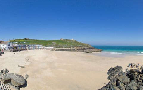 Cornwall beach porthgwidden st ives