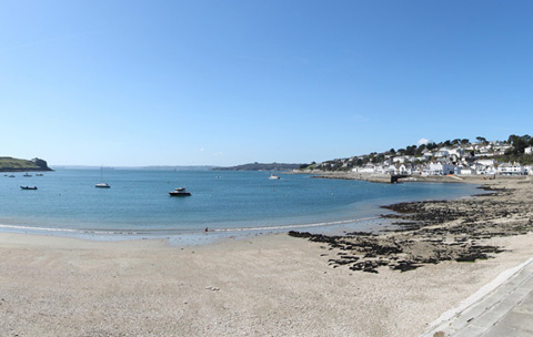 Cornwall beaches Summers Beach St Mawes & The Roseland
