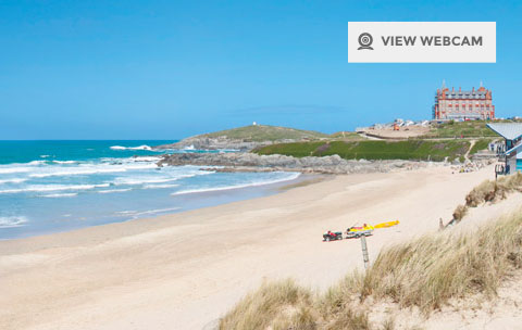 Fistral Beach Webcam