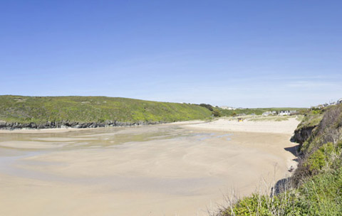 Cornwall beaches Porthcothan Bay Padstow