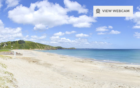 pentewan sands beach webcam Cornwall
