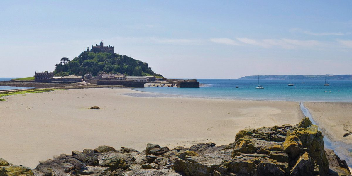 Marazion beach Penzance West Cornwall