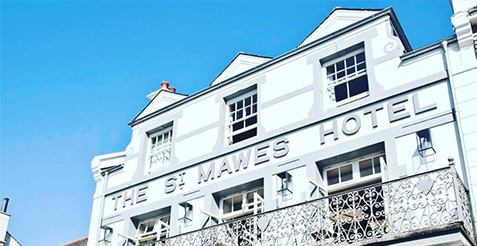 Stay at the St Mawes Hotel Roseland Peninsula Cornwall