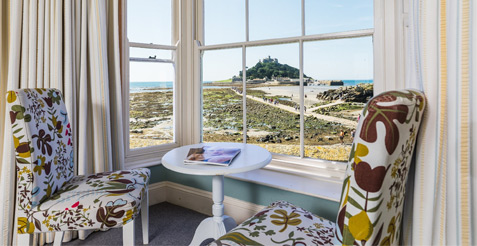stay at the godolphin arms marazion penzance west cornwall